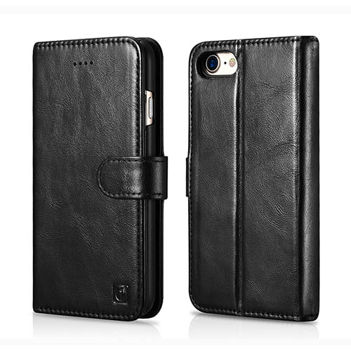 iCarer iPhone 8 Detachable Wallet Genuine Leather 2 in 1 Folio Case