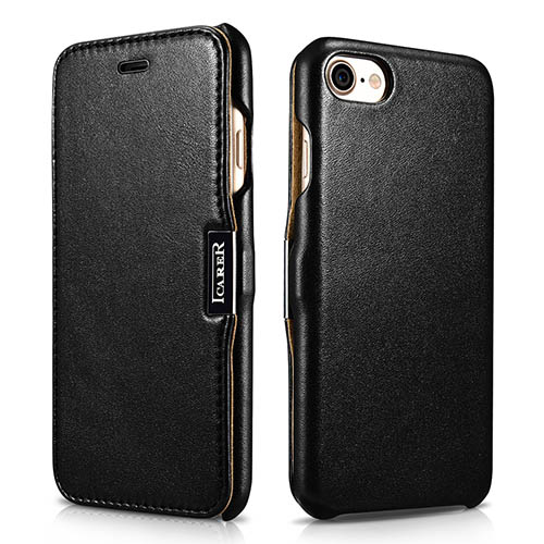 iCarer iPhone 7 Luxury Series Side Open Genuine Leather Case