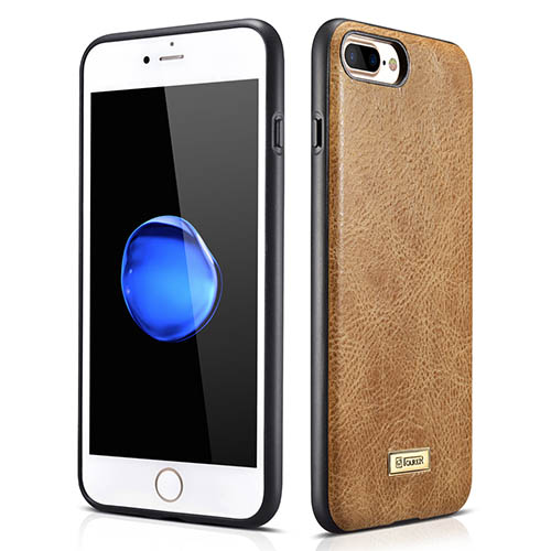 iCarer iPhone 8 Plus Shenzhou Genuine Leather Fashional Back Cover