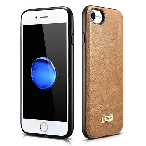 iCarer iPhone 8 Shenzhou Genuine Leather Fashional Back Cover Case