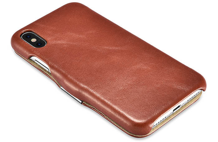iCarer iPhone X Vintage Series Cowhide Leather Case