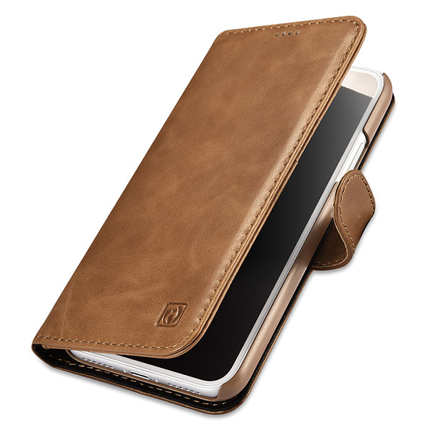 iCarer iPhone X Wallet Detachable 2 in 1 Cowhide Leather Folio Case