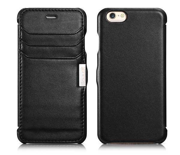 iPhone 6 Case iCarer Card-slot Luxury Series Side Open Leather Wallet Case Cover