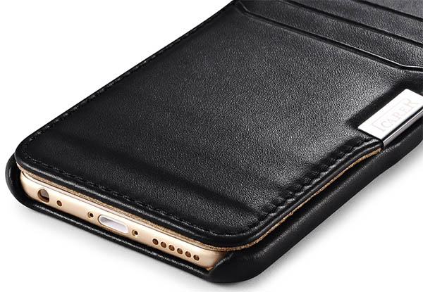 iCarer iPhone 6 Leather Wallet Case Cover